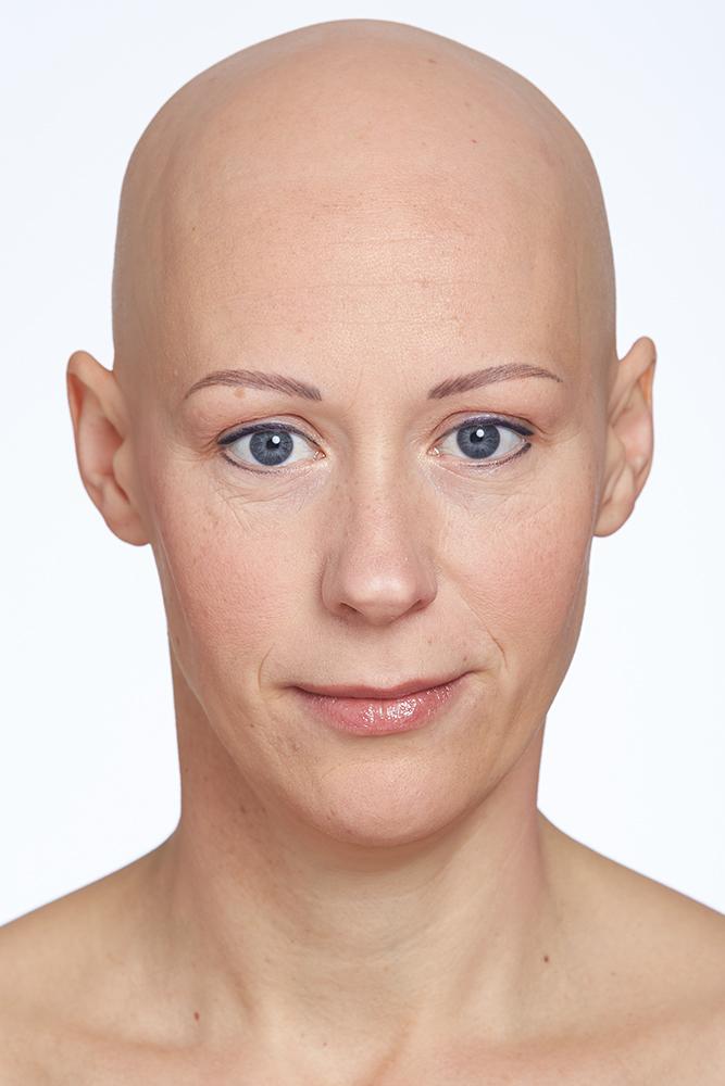 Micropigmentation PMU Kundin Goldeneye Zufriedene PMU Kunden Vorher-Nachher, permanent make-up